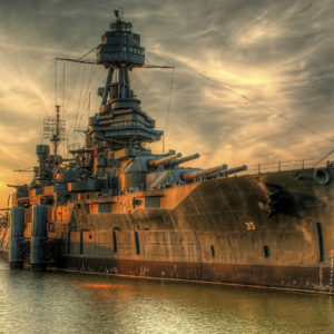 Battleship Texas HDR | Photo credit: BevoStevo